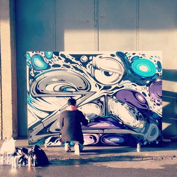 live art banksy